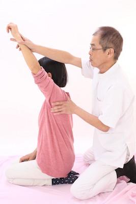 肩甲骨の調整