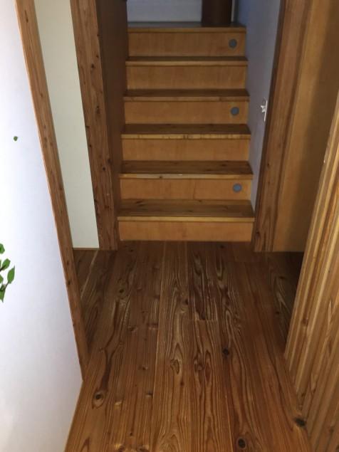 飴色の階段